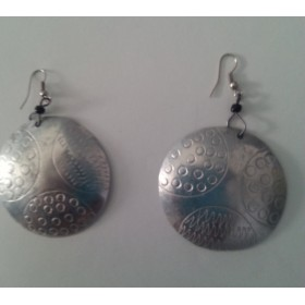 Aluminum Etched Earrings