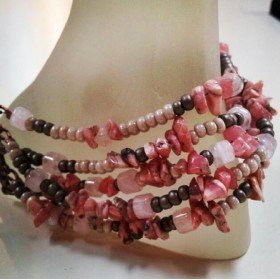 Czech beads and Rose